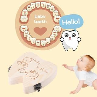 Baby Teeth Holder Milk Tooth Box Plastic 10Pcs Dental Milk Teeth Storage Box EG