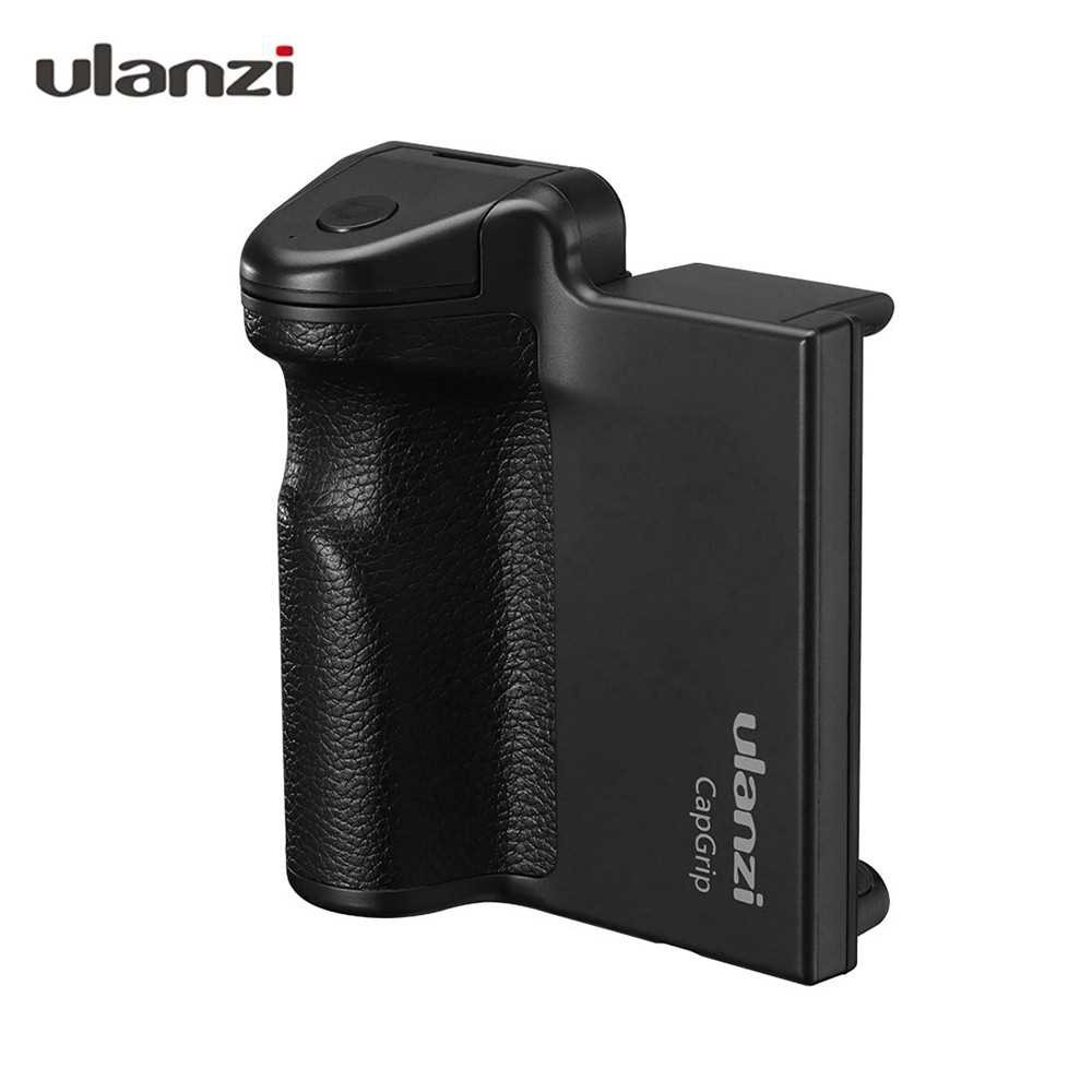 Ulanzi CapGrip 3 in 1 Phone Selfie Booster Handle Grip Anti-shake Remote Control with PU Grip for Mobile Photography Co