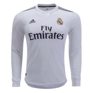 33e442cb76f 18 19 Real Madrid long sleeve jersey