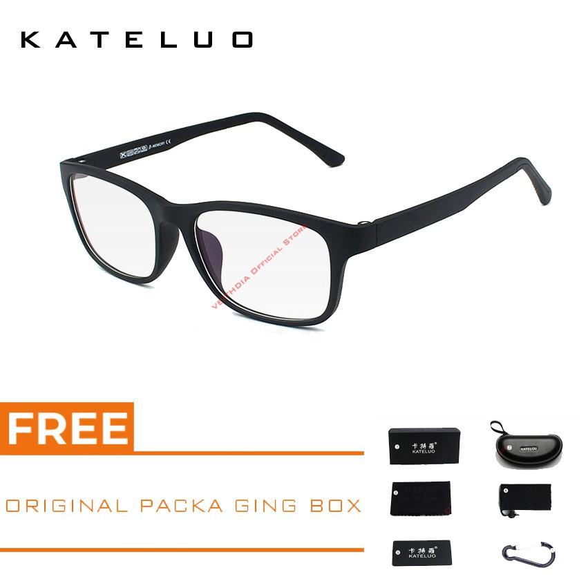 298ec9647d KATELUO Anti Blue Laser Fatigue Radiation-Resistant Glasses Frame K1310