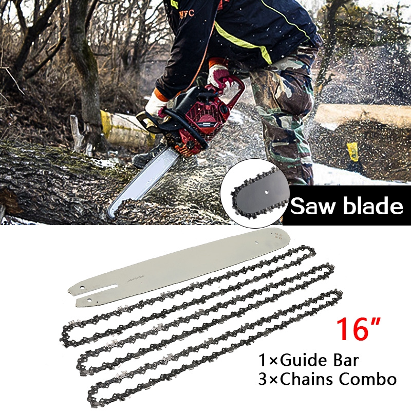 """14/"""" Guide Bar Saw Chain Combo 3//8/""""LP .050/"""" 50DL Reliable for STIHL MS170 MS181 m"""