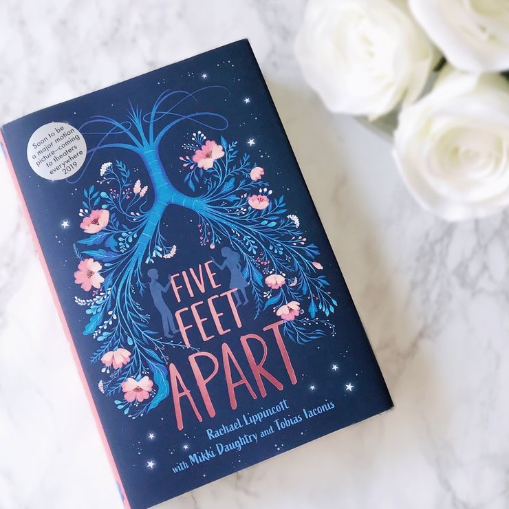 Five Feet Apart Kitap: Five Feet Apart Novel Book By Rachael Lippincott Blue