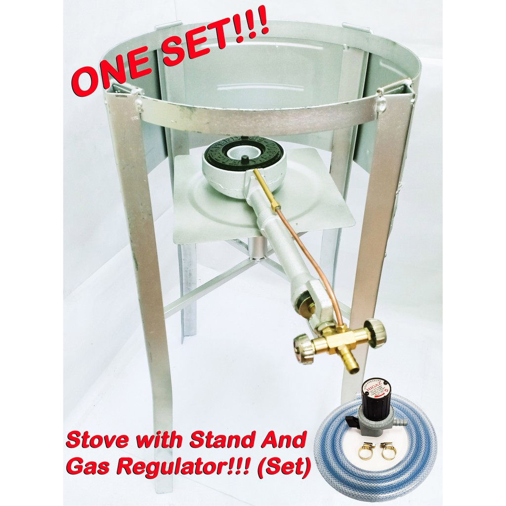 Iron Stove Stand With High Pressure Gas