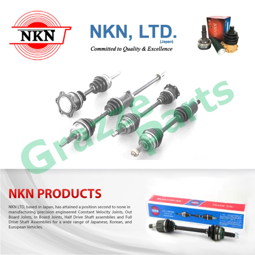 NKN Drive Shaft LH and RH for N1443 Toyota FJ Cruiser HSJ15