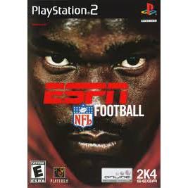 PS2  ESPN NFL Football / ESPN NFL 2005 [Burning Disk]