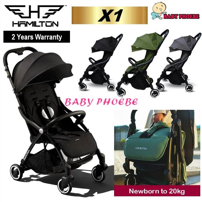 Hamilton X1 Magic Fold Compact Infant Newborn Baby Kids ...