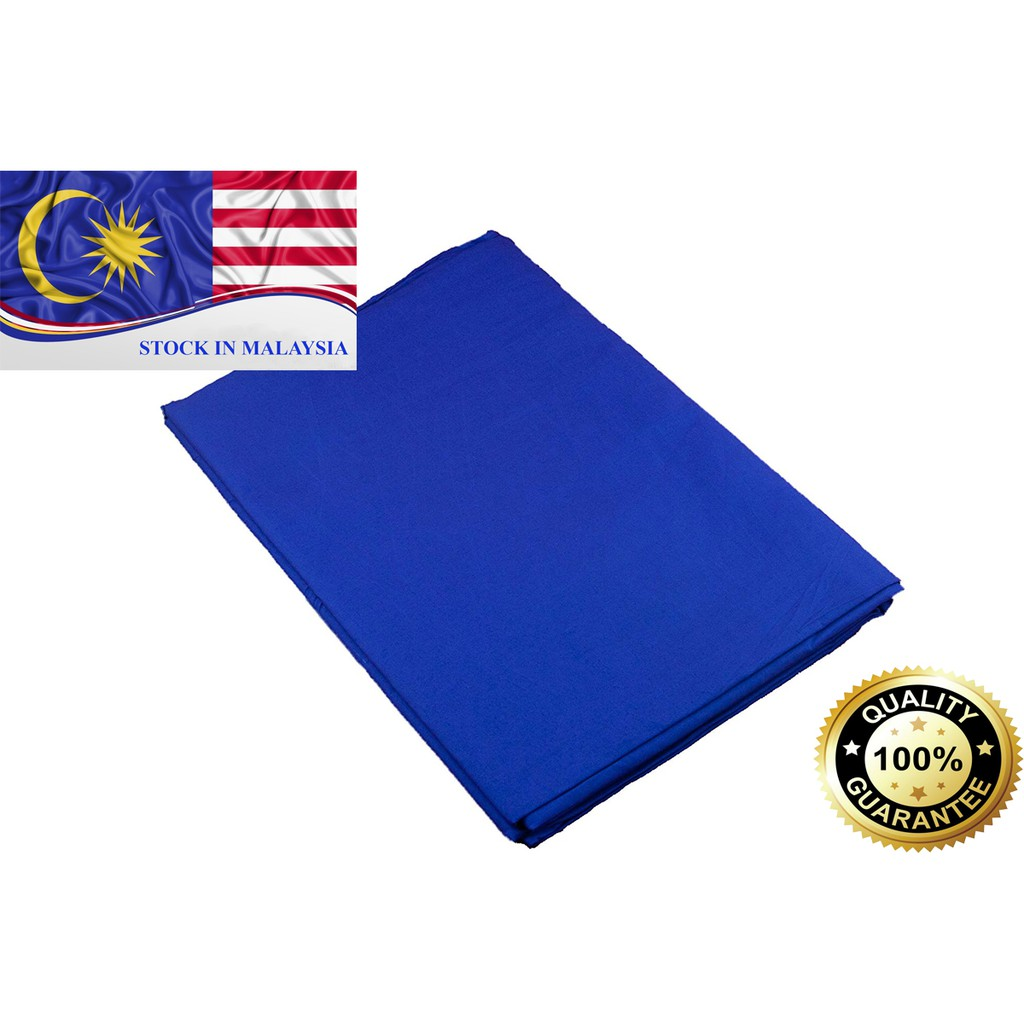 Blue Muslin Photography Backdrop 3m x 6m (Ready Stock In Malaysia)