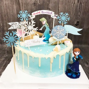 Astounding Ready Stock Frozen 2 Set Cake Topper Shopee Malaysia Funny Birthday Cards Online Elaedamsfinfo