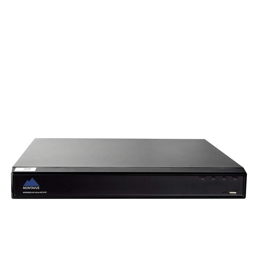 Montavue 4K Surveillance System with 6 4MP IP Security Cameras, Audio  Camera Pac