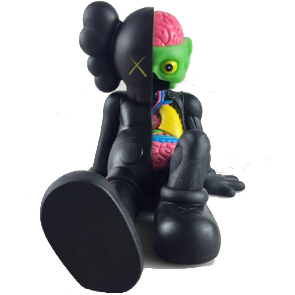 HOT KAWS Dissected Companion Action Figures for Kids Original Fake Toys 20CM 8/""