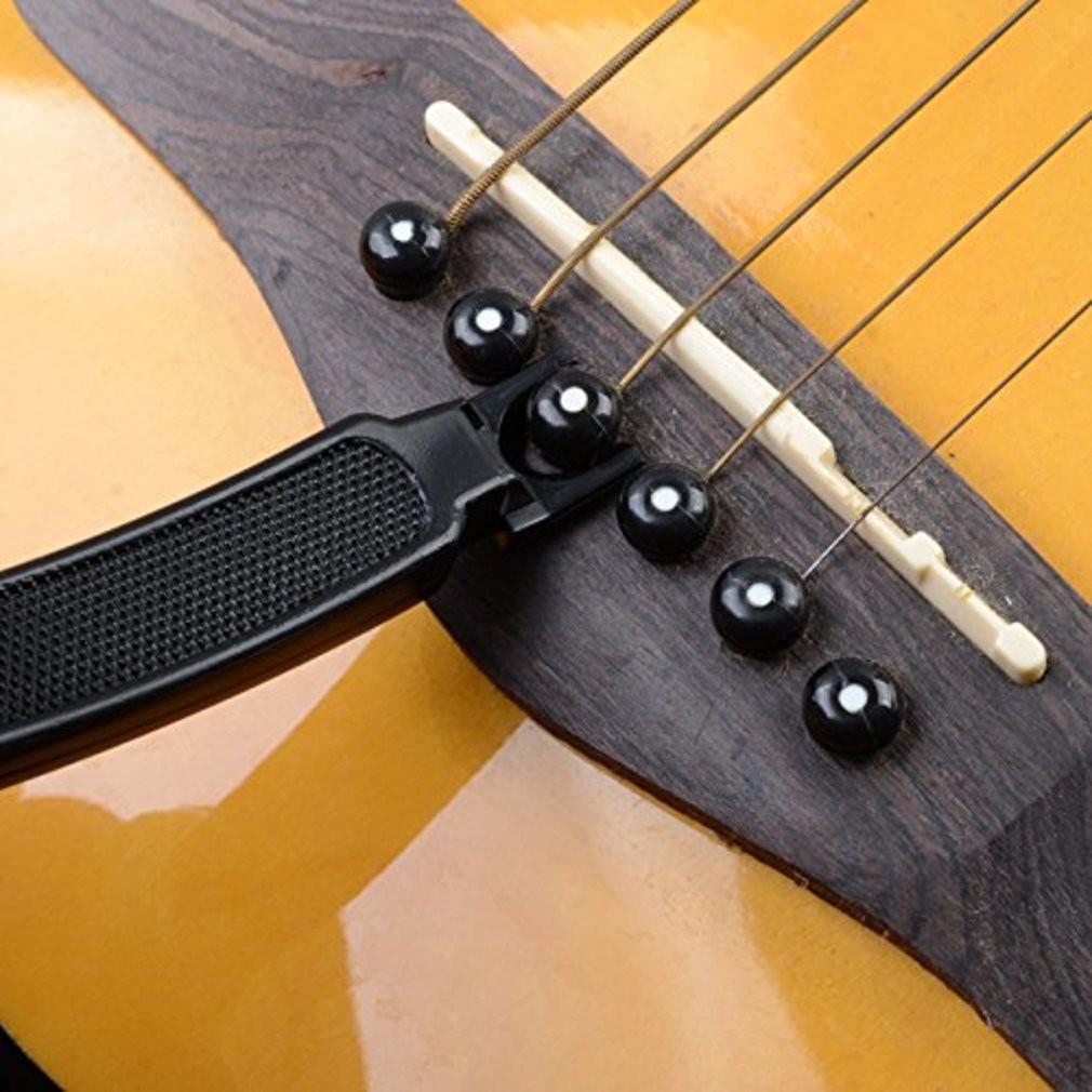 KualaLumpur] 3 In 1 Guitar String Winder Cutter Bridge Pin Puller ...