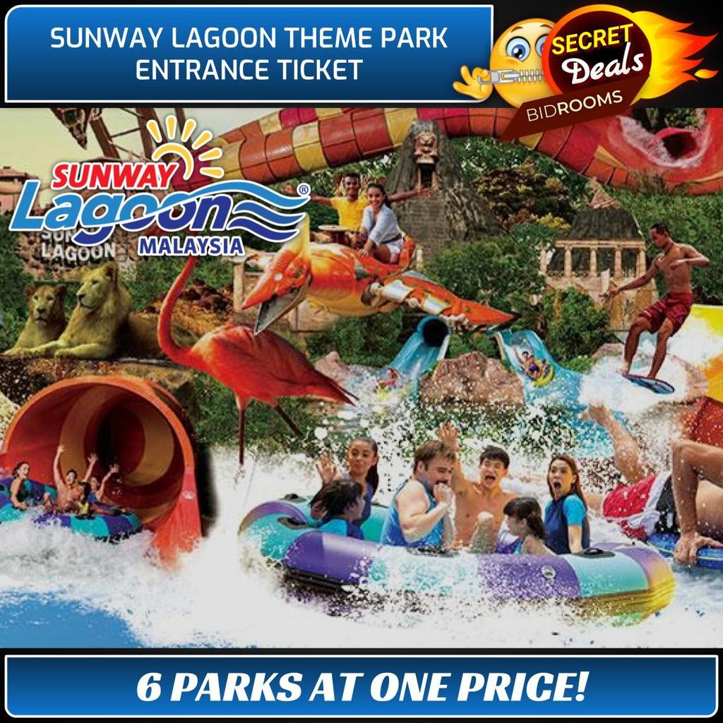Sunway Lagoon Shopee Malaysia Et Ticket Dewasa Kuala Lumpur