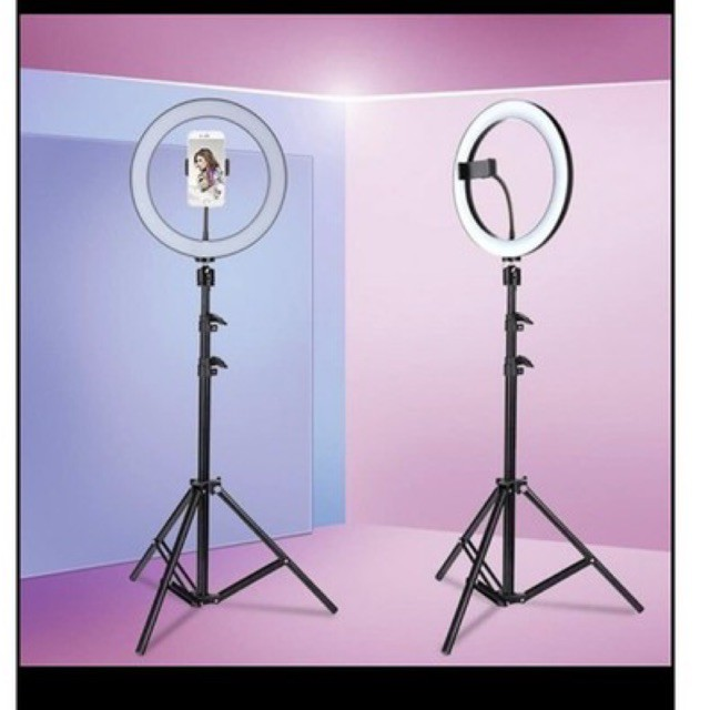 Fb live stand 210cm stand and 26cm right light stand selfie light stand