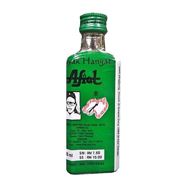 Minyak Hangat Afiat (55ml)