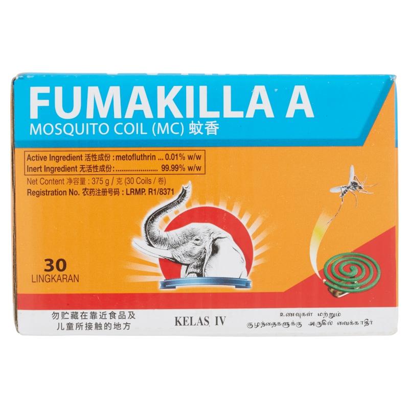 Fumakilla A Mosquito Coil (30 Coil/375g)