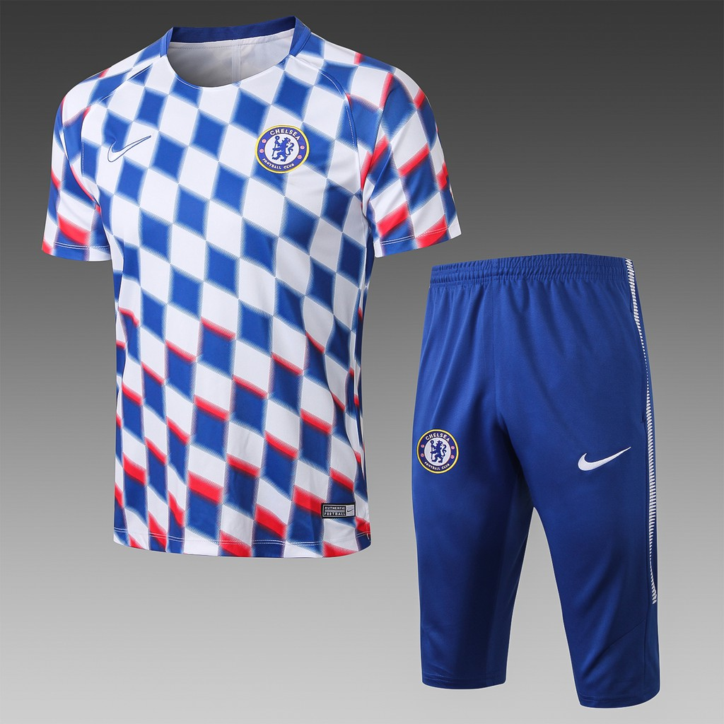 big sale 09321 fd200 Chelsea 2019 training kit printed in white