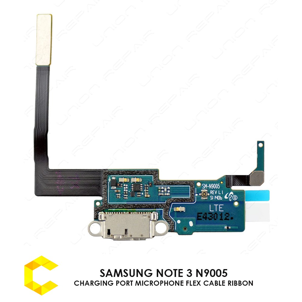 CellCare SAMSUNG NOTE 3 N9005 CHARGING PORT MICROPHONE FLEX CABLE RIBBON