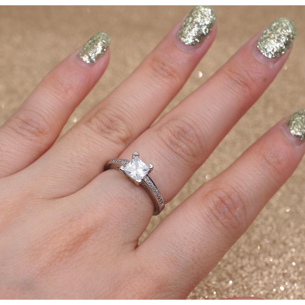 jewelry wedding ring zircon fashion Sapphire HOT Multicolor   Shopee ...