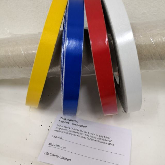 Reflector lining 3M (Red/blue/white/yellow) 100meter