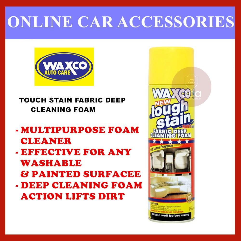 Waxco Tough Stain Fabric Deep Cleaning Foam