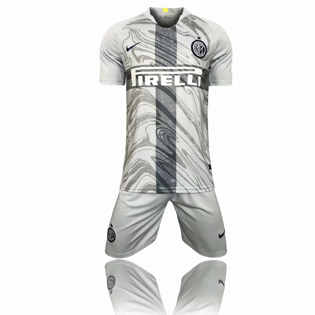 brand new c370c 52539 Inter milan 3rd third soccer Jersey set 18/19 jersi Shirt + pants