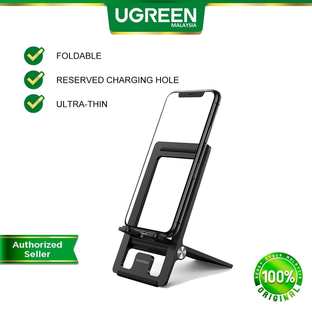 UGREEN Ultra Thin Super Lightweight Adjustable Foldable Portable Phone Holder Desk Phones Stand Dock For 4.7''-7.2''