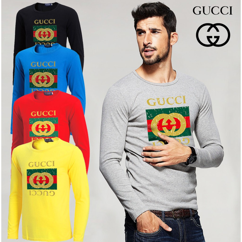 194e77f50 gucci shirt - T-shirts & Singlets Prices and Promotions - Men's Clothing  Jan 2019 | Shopee Malaysia