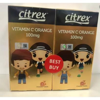Vitamin C Orange 100mg 2×90's