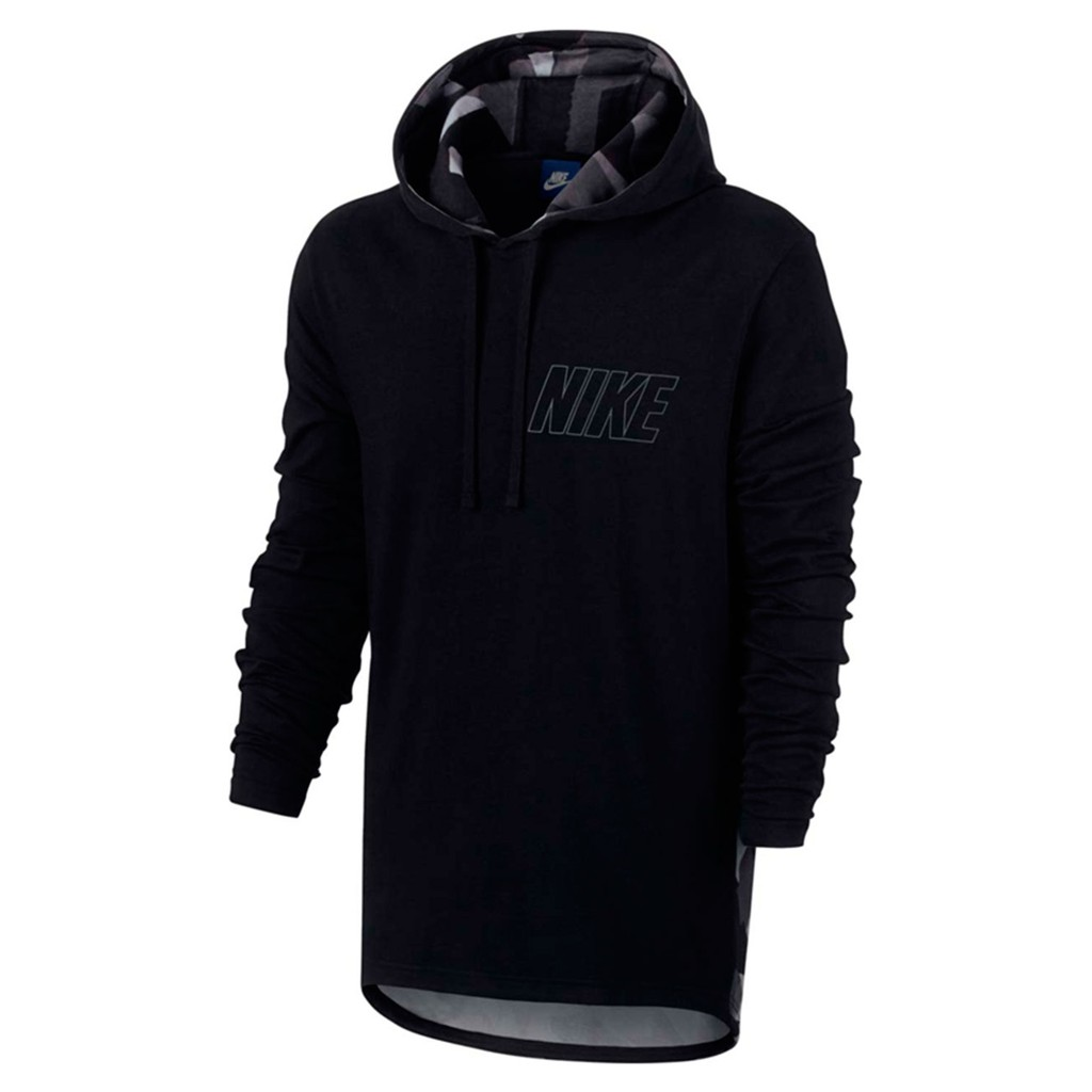 89b4ae3e61 100% Authentic - Nike NSW Pullover Hoodie - Black
