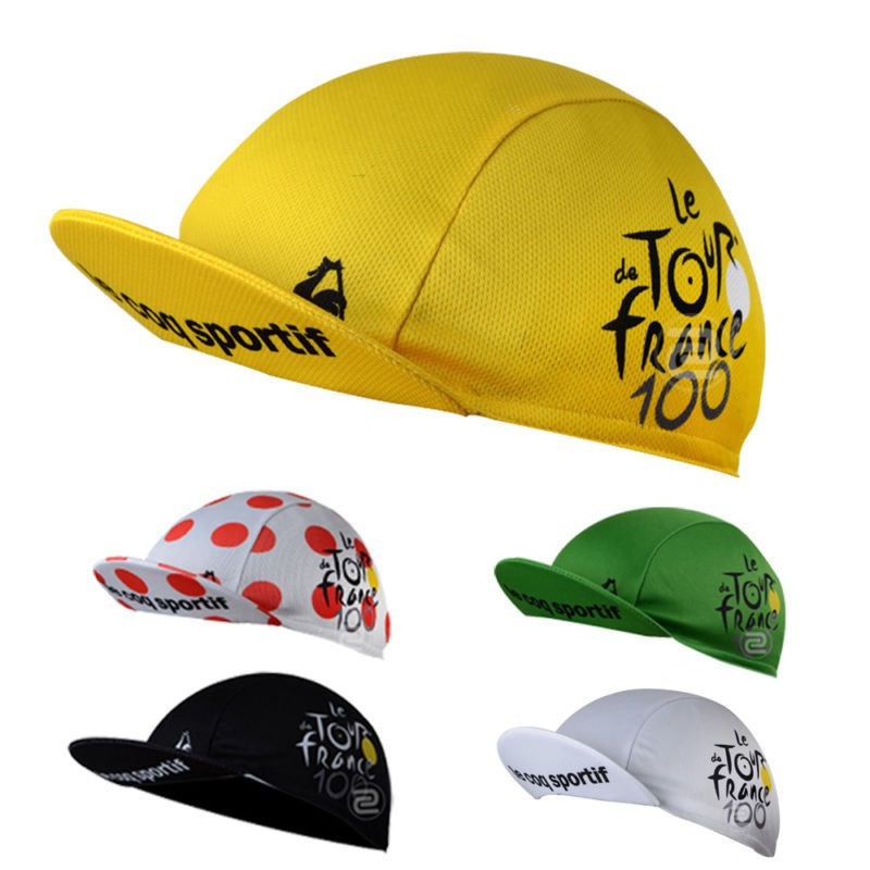 New Elastic Cycling Cap Bike Team Headwear Bicycle Riding Hat One Size 50-58cm