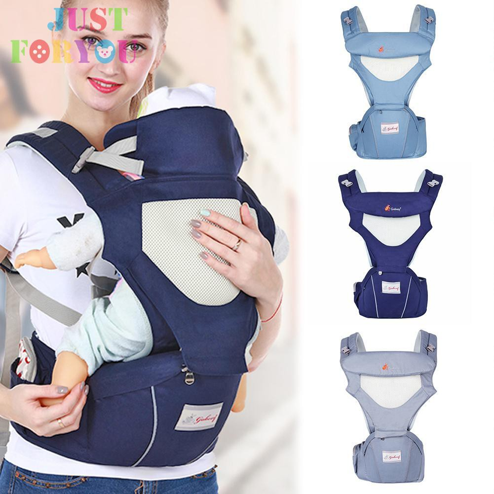 Baby Carriers Foldable Infant Hipseat Front Facing Ergonomic Wrap Backpacks