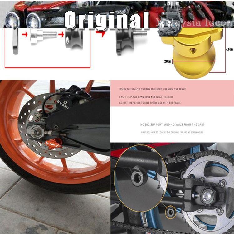 CBR929RR 1000RR 1100XX modified CNC starting frame screw decorative license  plat