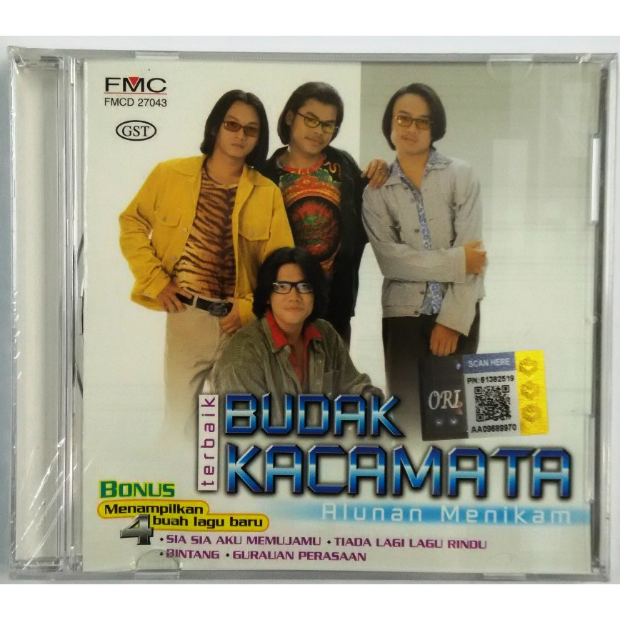 BUDAK KACAMATA Terbaik Alunan Menikam Music CD  292938fa7e