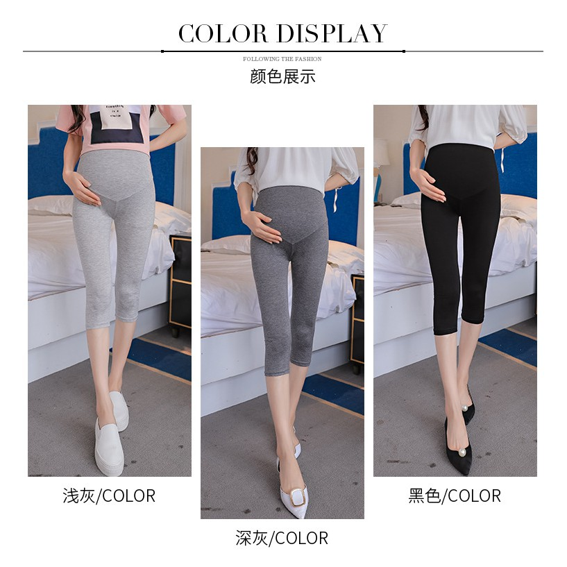 2a9ce53cac3ec Teenster Pregnancy Maternity Clothing Maternity Support Pants Premama  Trousers   Shopee Malaysia