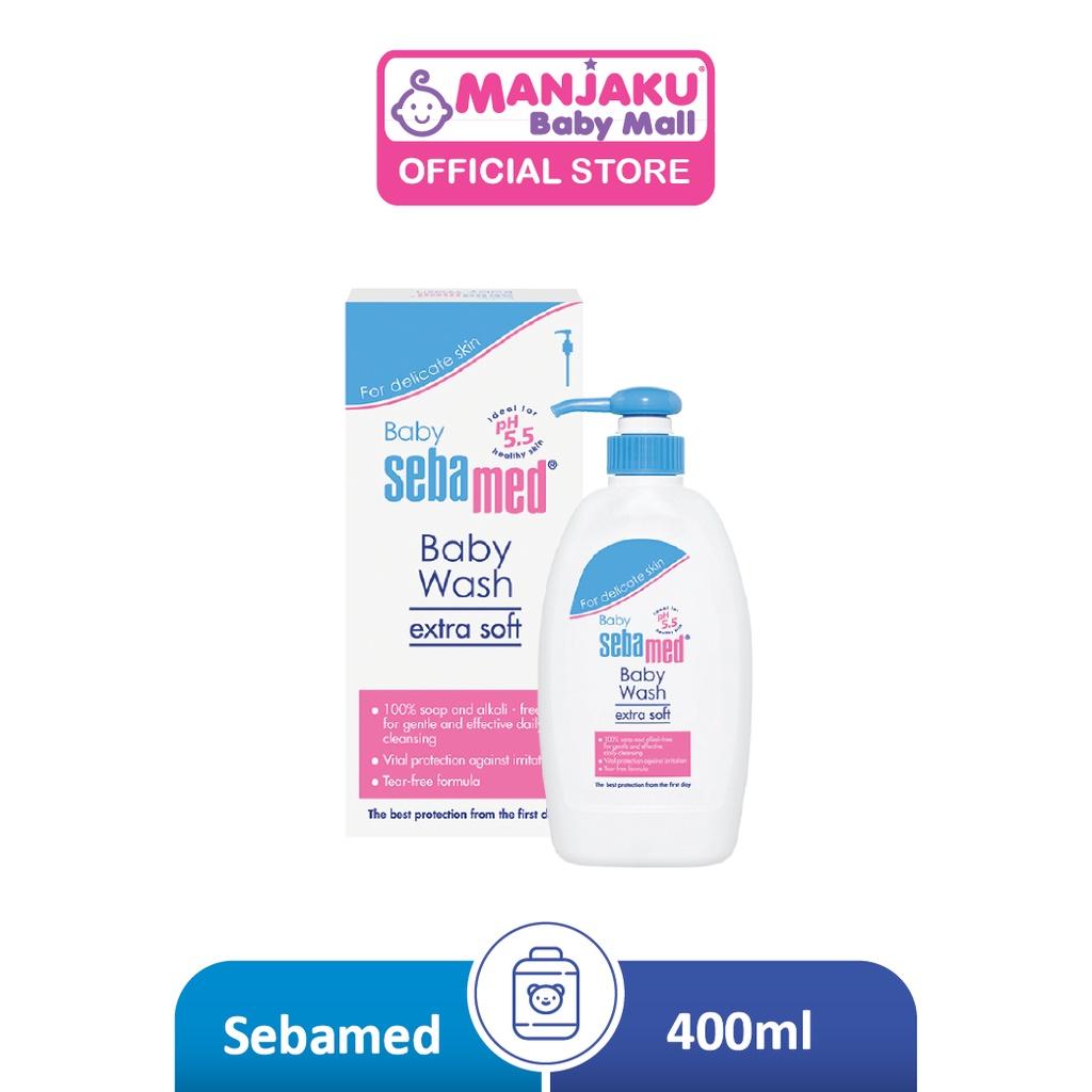 SebaMed Baby Wash Extra Soft 400ml