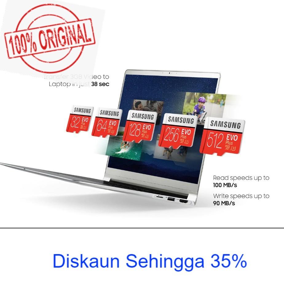 SAMSUNG EVO Plus micro SD Memory Card 32GB, 64GB, 128GB, 256GB