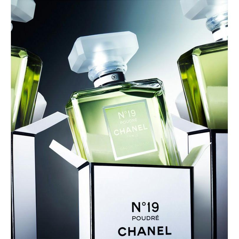 Chanel N°19 Poudre for Women - Eau de Parfum, 100 ml   Shopee Malaysia f6aaa12bca95