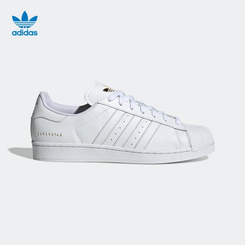 oficina postal carbón montículo  Original ready stock* Adidas official website adidas clover SUPERSTAR men  and women classic sports shoes FU91 | Shopee Malaysia