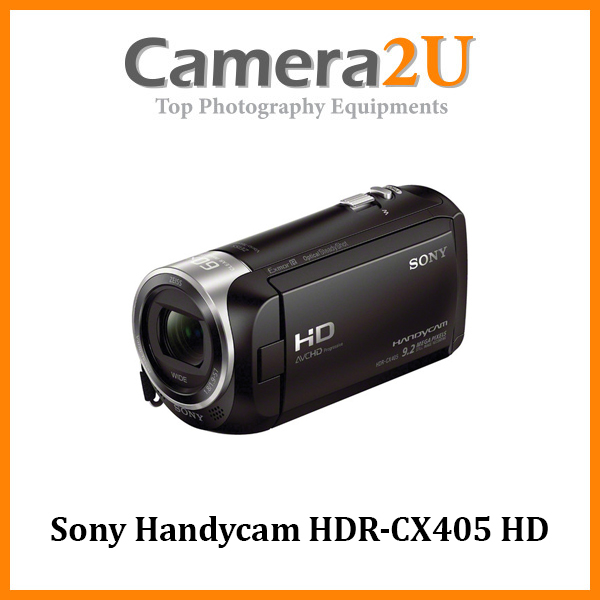 Sony Handycam HDR-CX405 HD Video Camcorder 30X Optical +16GB (Import)