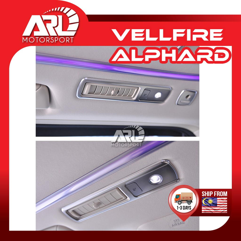 Toyota Alphard / Vellfire (2015-2020)AH30 AGH30 Roof Aircond Air Cond Lining Silver Car Auto Acccessories ARL Motorsport