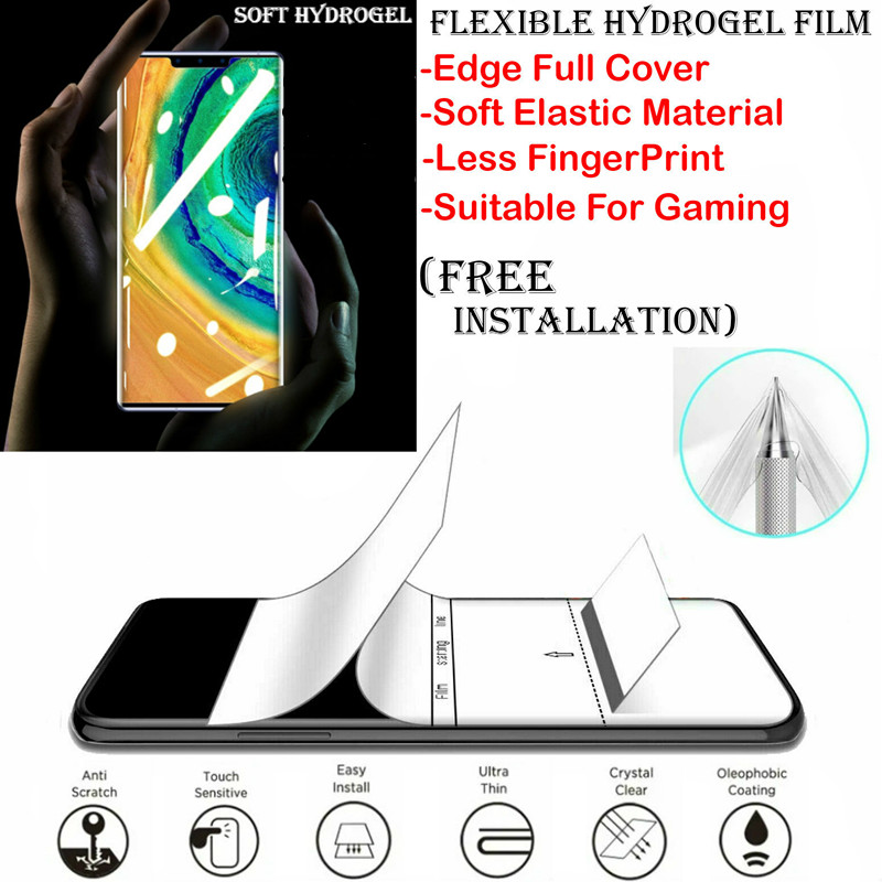 ZTE Tempo Go / ZTE Tempo X / ZTE Warp 7 Hydrogel TPU Soft Screen Protectors