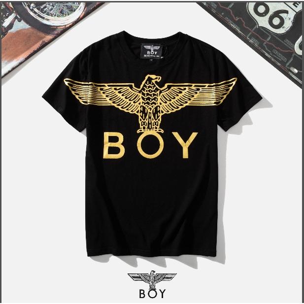 2d8b2b4d7b8 Boy London 2019 tide brand short-sleeved sports casual loose top