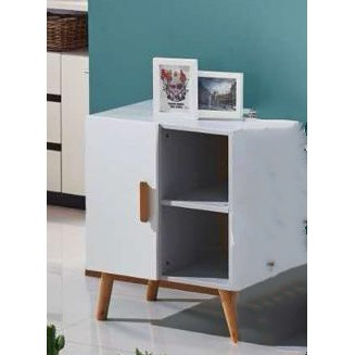 (READY STOCK) SIDE CABINET WHITE
