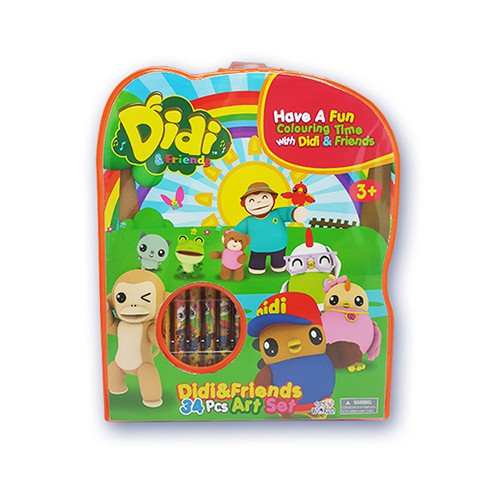 Didi Friends Art Set Shopee Malaysia