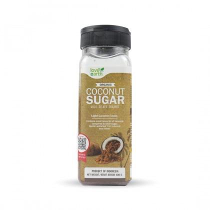 Love Earth Organic Coconut Sugar 400g 乐儿有机椰糖 400公克 (罐装)