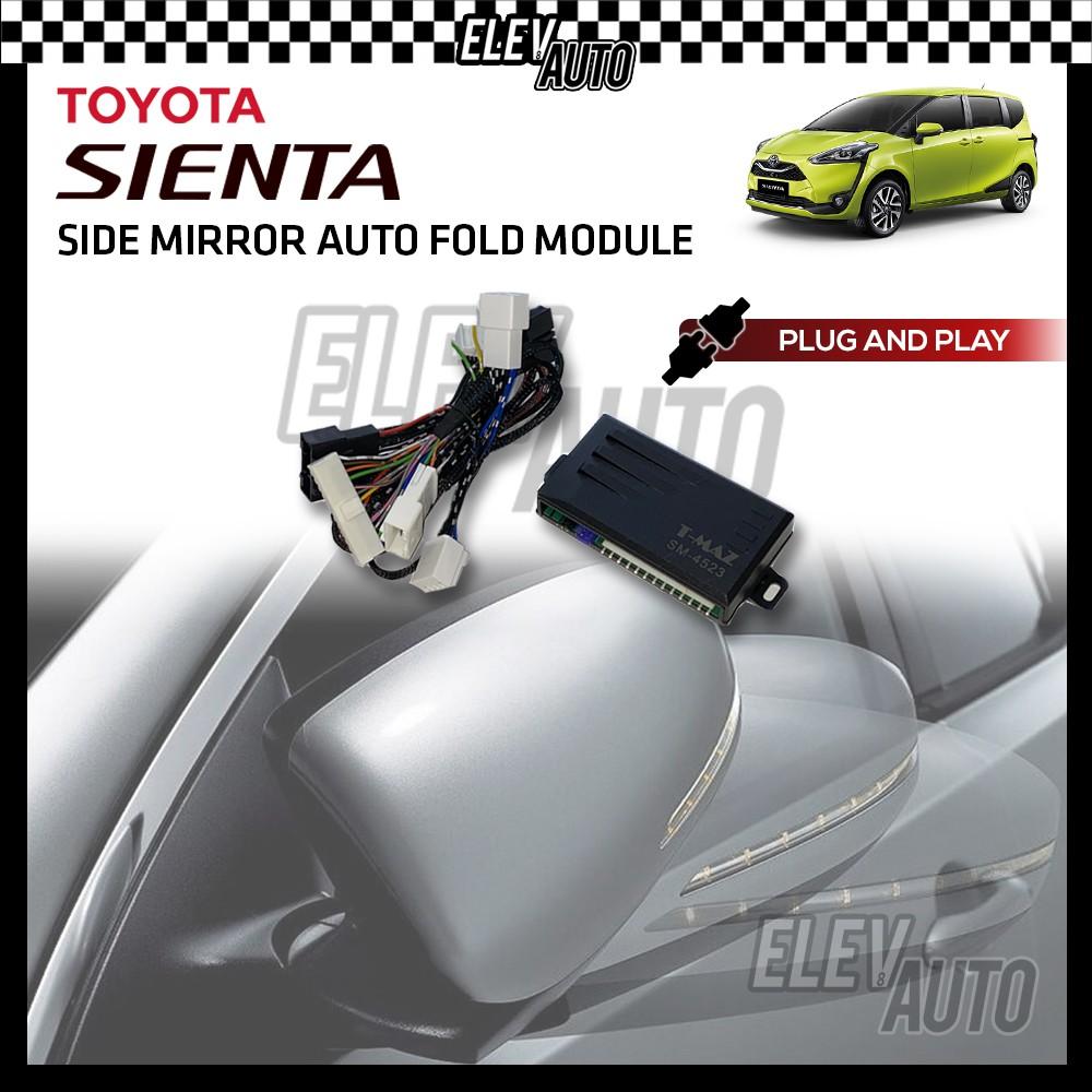 Side Mirror Auto Fold Module PLUG AND PLAY Toyota Sienta