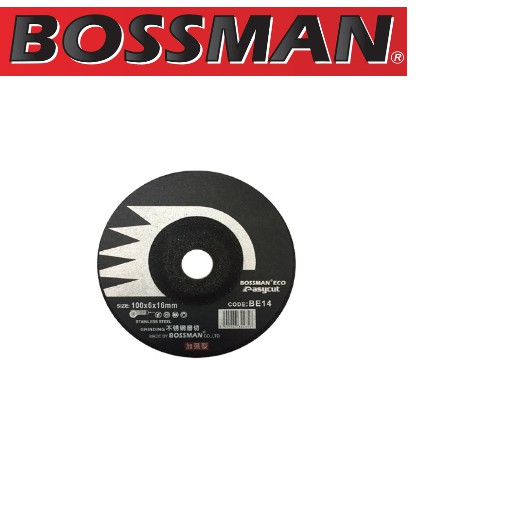 "Bossman BGE4 Easycut Grinding Wheel 4""(25PCS)"