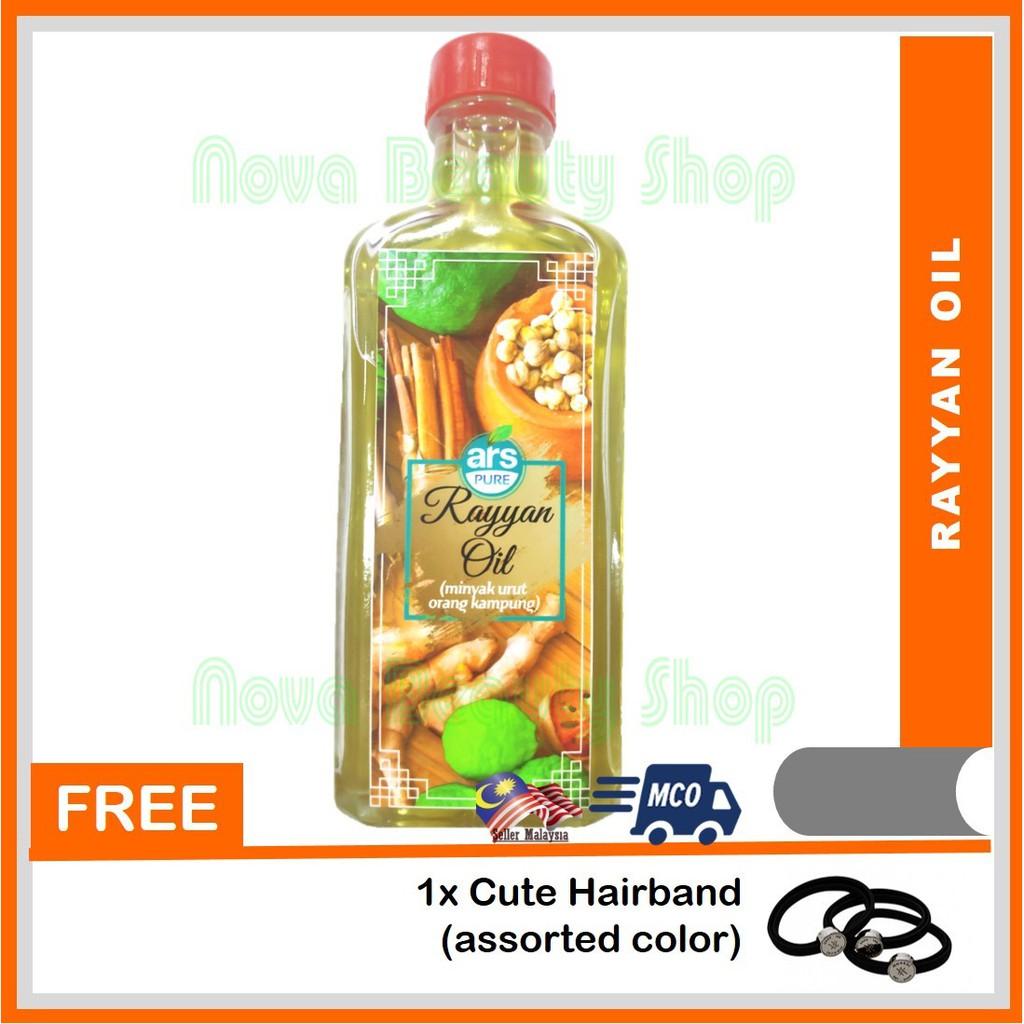 Minyak Urut Orang Kampung Rayyan Oil ZM Beauty 60ml
