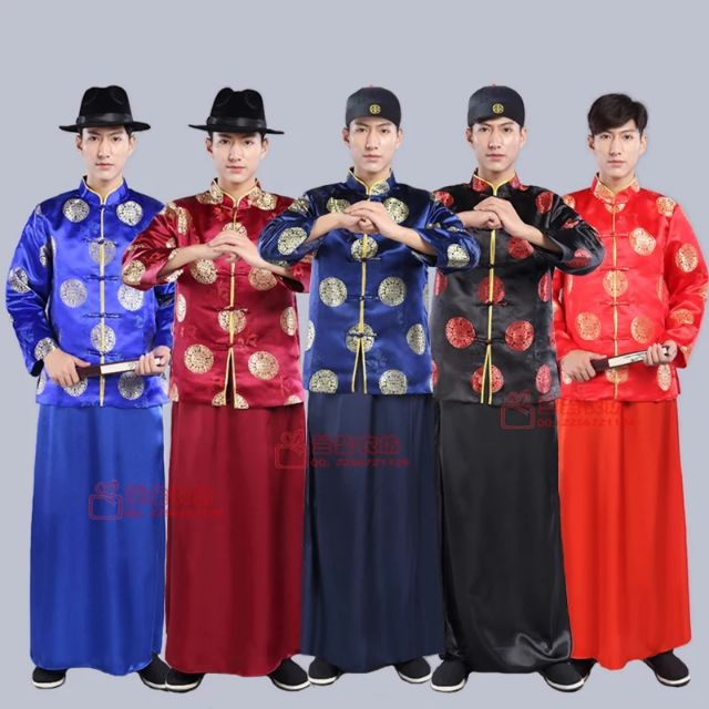 b2a7e5cc8 Men Traditional SamFu Bridegroom Traditional Costumes Chinese New Year Wear  | Shopee Malaysia