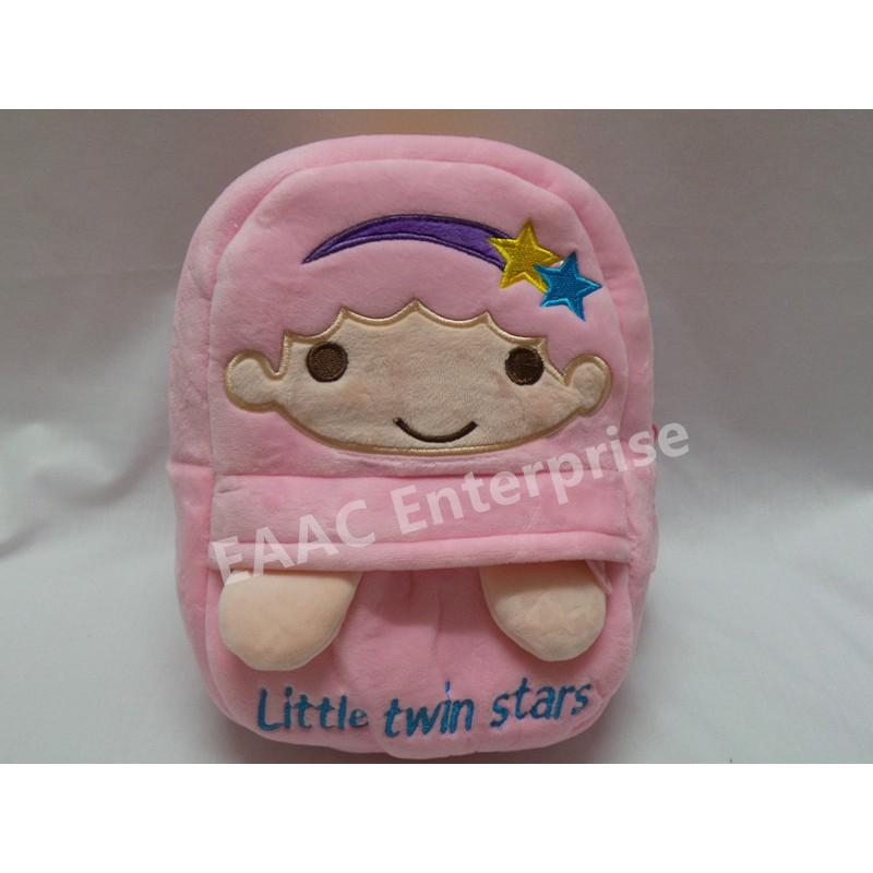 Little Twin Star P Kid Backpack School Shoulder Bag (S)